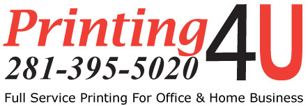 Printer katy tx full service family owned since 1986 281 395 5020 full service printer katy texas printing4u katy area 281 395 5020 reheart Images